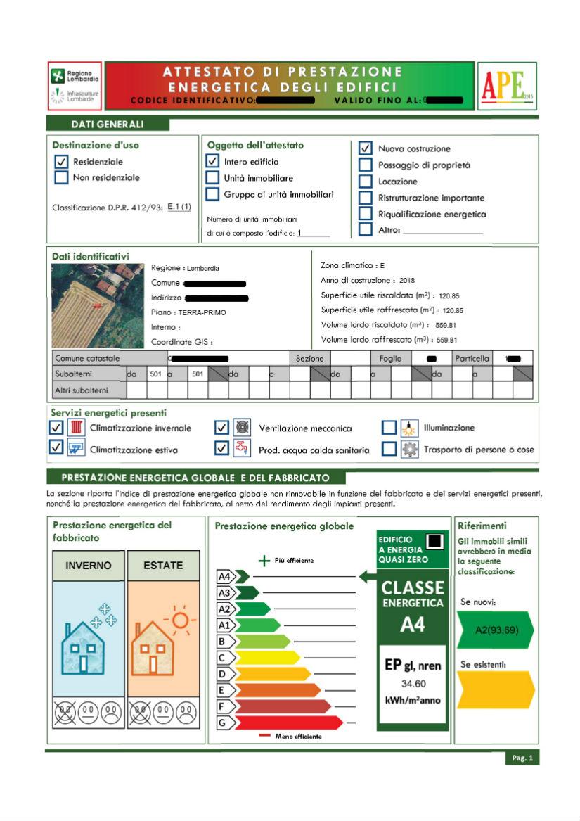 certificazioni energetiche cremona